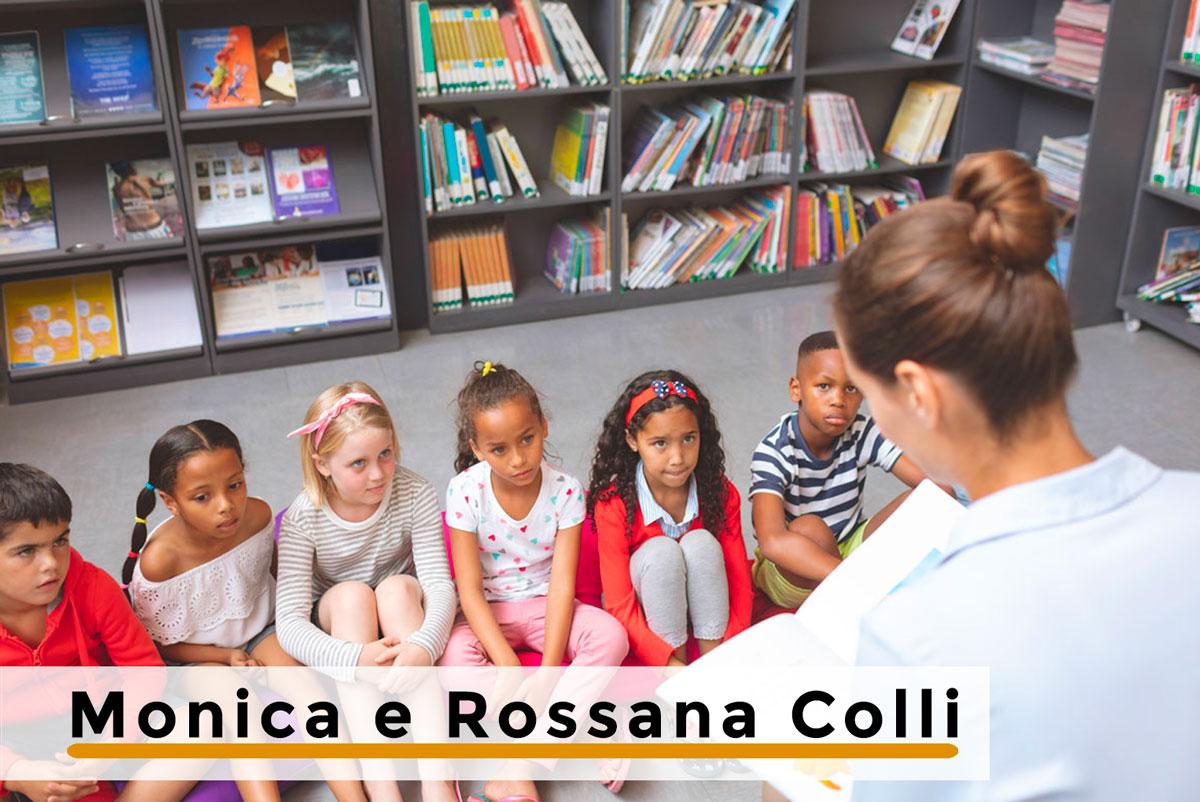 L'INSEGNANTE CHE RACCONTA PER SOCI – di Monica e Rossana Colli