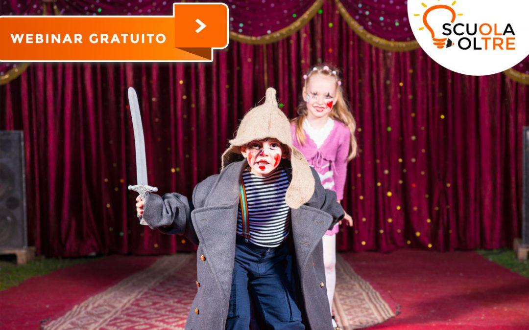 Dal teatro all'aula… virtuale